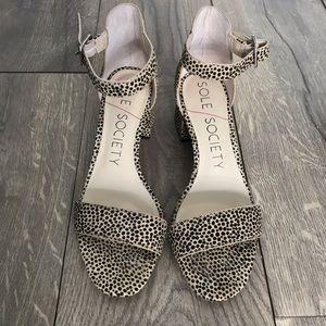 Cheetah Printed Heels
